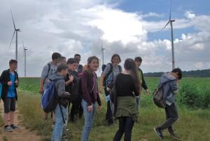 Ausflug zum Windlehrpfad Schwanfeld