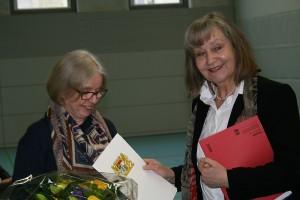 Unsere Schulleiterin wird in den Ruhestand verabschiedet