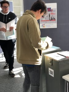 Juniorwahl zur Landtagswahl 2018