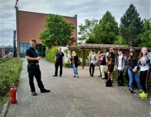 Brandschutzdemonstration bei der Schweinfurter Berufsfeuerwehr