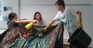 Der Besuch der Klassen 5a und 5g im Lehr-Lern-Labor