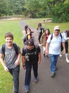 Erster Wandertag im Schuljahr 2019/2020