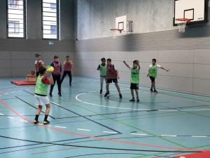 Handballtag der fünften Klassen