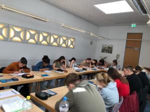 Quali-Vorbereitung der neunten Klassen in Bad Königshofen