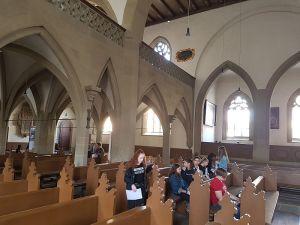 Besuch der Religionsgruppen des 7. Jahrganges in der St. Johannis-Kirche