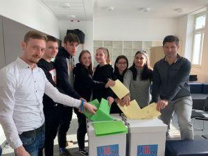 U 18 Wahl an der Friedenschule